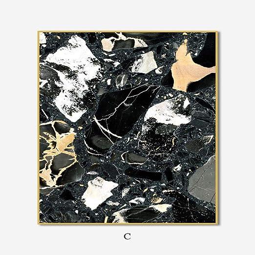 zgmtj Moderno Mármol Abstracto Textura Arte de la Pared Carteles Y ...