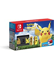 Consola Nintendo Switch + Pokémon Let's Go, Pikachu! Edition