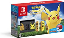 Nintendo Switch Console Bundle  Pikachu & Eevee Edition With Pokemon: Let's Go, Pikachu! + Poke Ball Plus by By    Nintendo