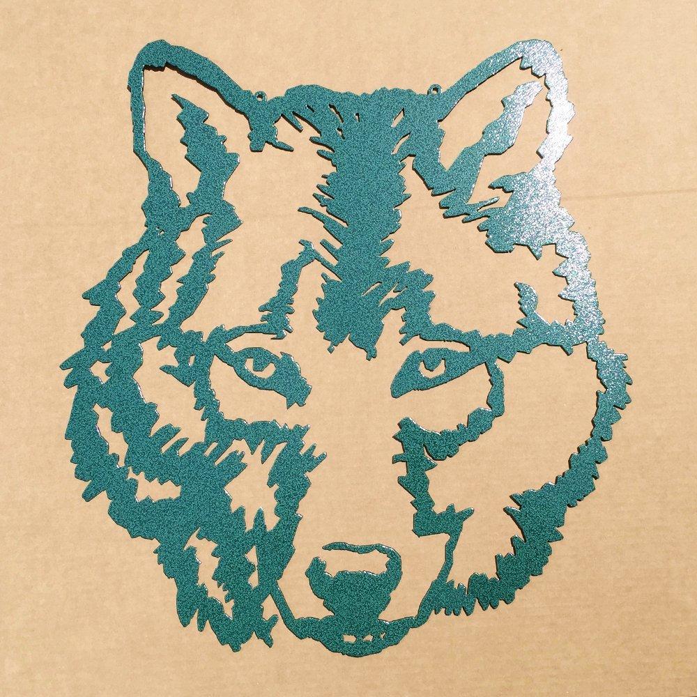 Amazon.com: Wolf Metal Wall Art (E8): Home & Kitchen