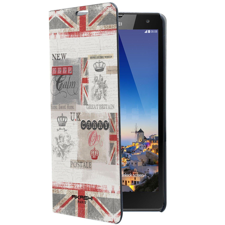 Akashi Carcasa en Folio para Huawei Y625 británica de la ...