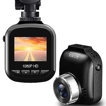 BUIEJDOG Dashcam Cámara de Coche Full HD 1080p Cámara para Coche ...