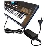 ABC Products® Ersatz Yamaha AC / DC Netzteil, Netzadapter, Netzanschluss 12V / 12 Volt (PA-5D/PA-150/PA-150A/5D/SEPA6/PA-6/PA-3C/EP-A3/KP-A3/PA-130/PA4/PA-40/PA-3B/PA-3C/PA-1/PA-1B) für passend zu Yamaha Synthesizers / Stage Piano's / Portable Keyboards / Piaggero Digital Piano / Drum Machine Serien etc (Modelle unten angegeben)