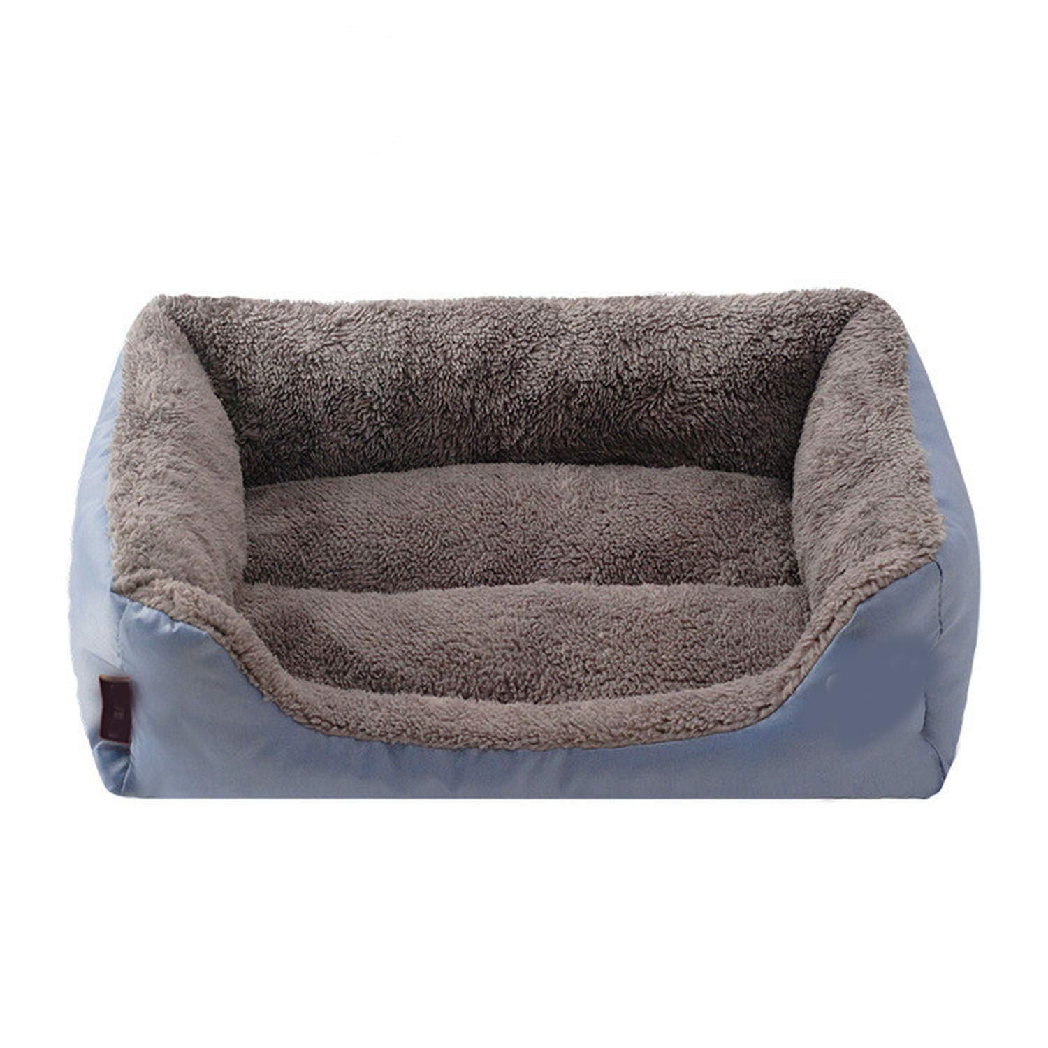 3 58x45x14cmPet Dog Beds for Small Middle Large Dogs House Sofa Kennel Square Pillow Husky for Puppy Cat House Beds Mat,09,68x55x16cm