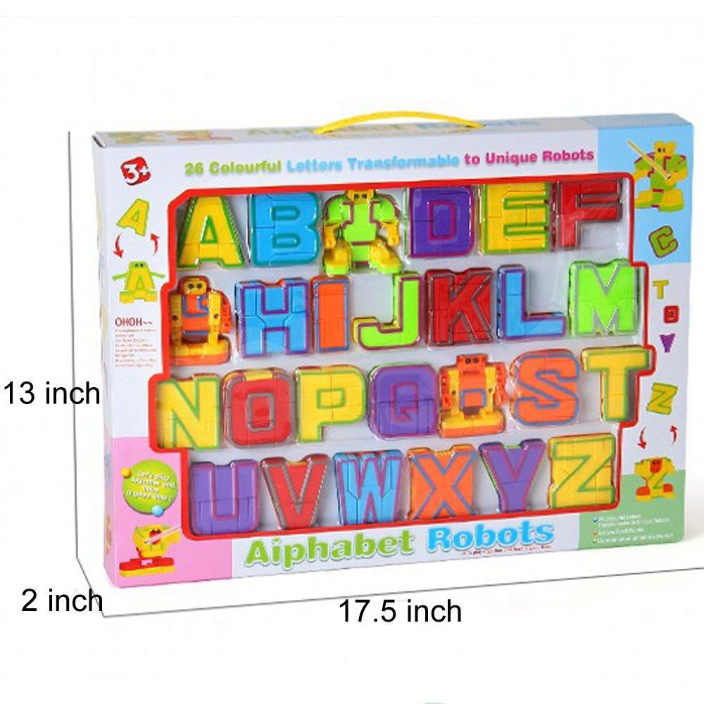 gasthof donau sigmaringen.de 20 Pieces BleuZoo Alphabet Robots ...