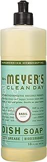 product image for Mrs. Meyer's Dish Soap Basil 16 floz