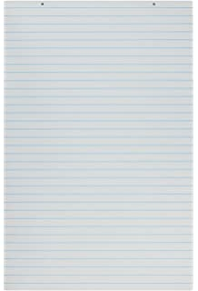 School Smart 48198 Primary Chart Paper Pads   24 X 36 Ruled Short   Pack Of And Lined Chart Paper