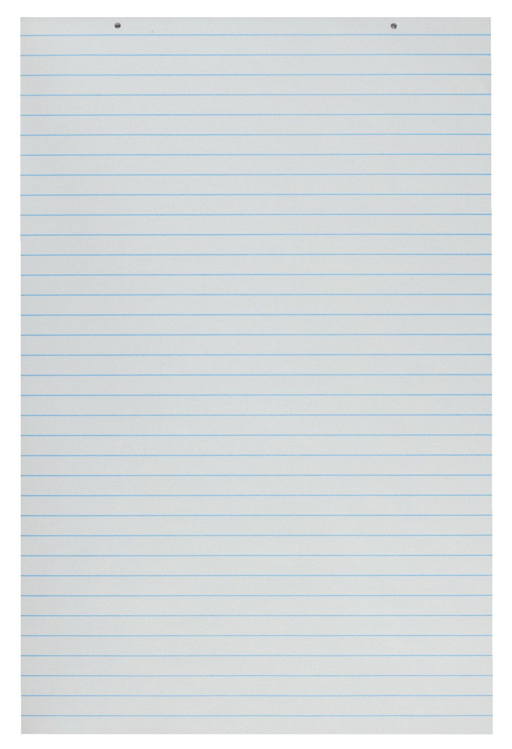School Smart 48198 Primary Chart Paper Pads - 24 x 36 Ruled Short - Pack of 100