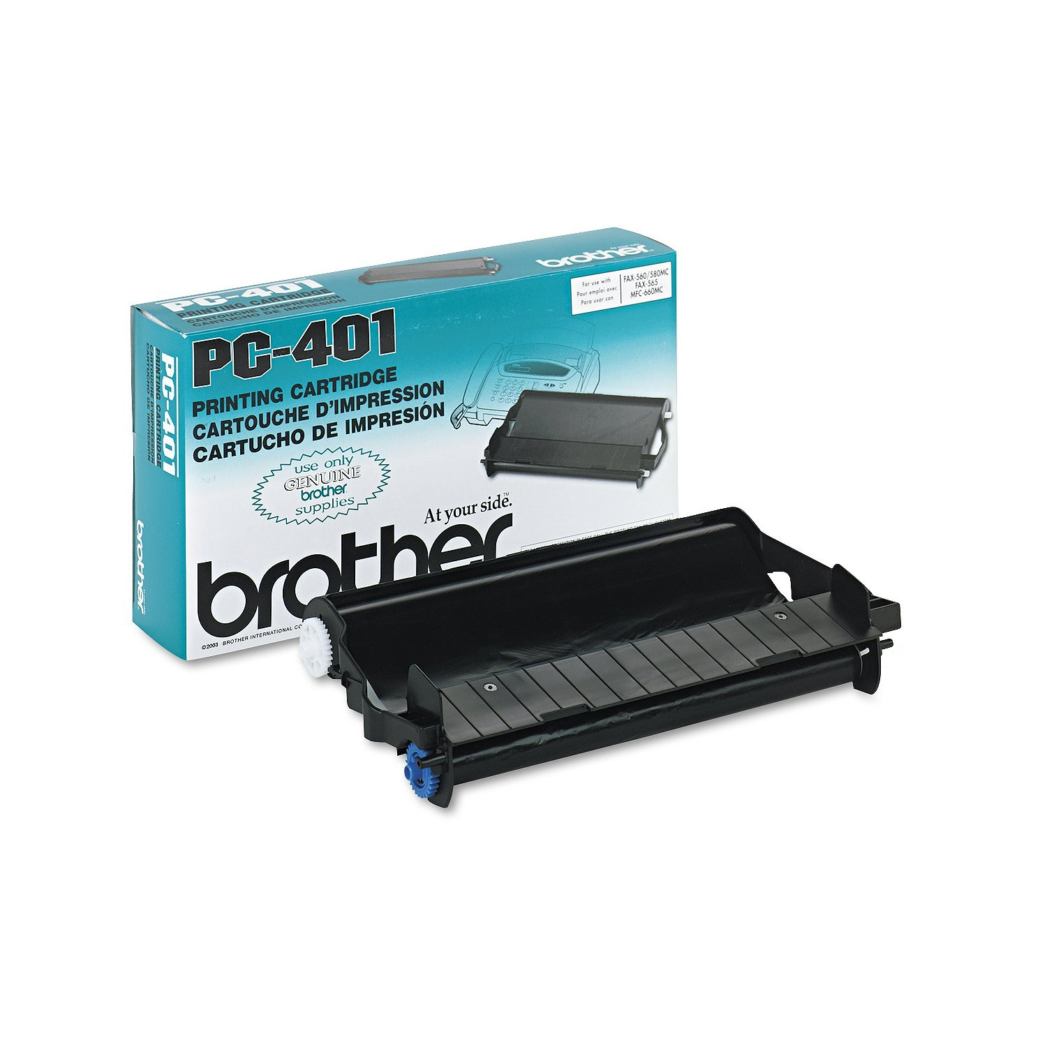 Brother PC401 Plain Paper Fax Cartridge
