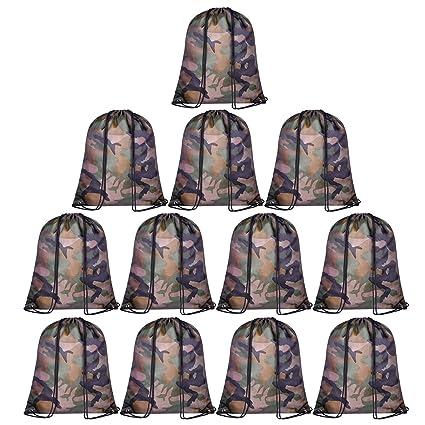 Amazon.com: KUUQA - 15 bolsas multicolores con cordón para ...