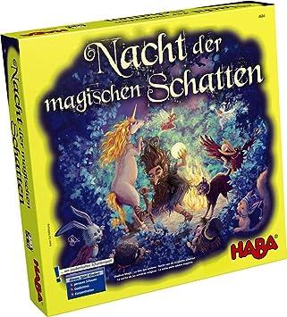 Haba - La Noche de las Sombras Mágicas -Juego de mesa, de 2 a 4 jugadores (4935) (importado): Amazon.es: Juguetes y juegos