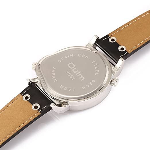 Amazon.com: Oulm9591 Luxury Watches Men Brand Japan Movement Military Army Wristwatches Male Relojes Hombre: OULM WATCH: Watches