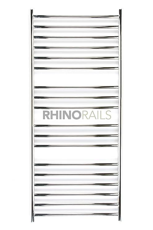 rhinorails 1300 x 600 mm Ergo (plano), 600 Acero Inoxidable – Toallero eléctrico