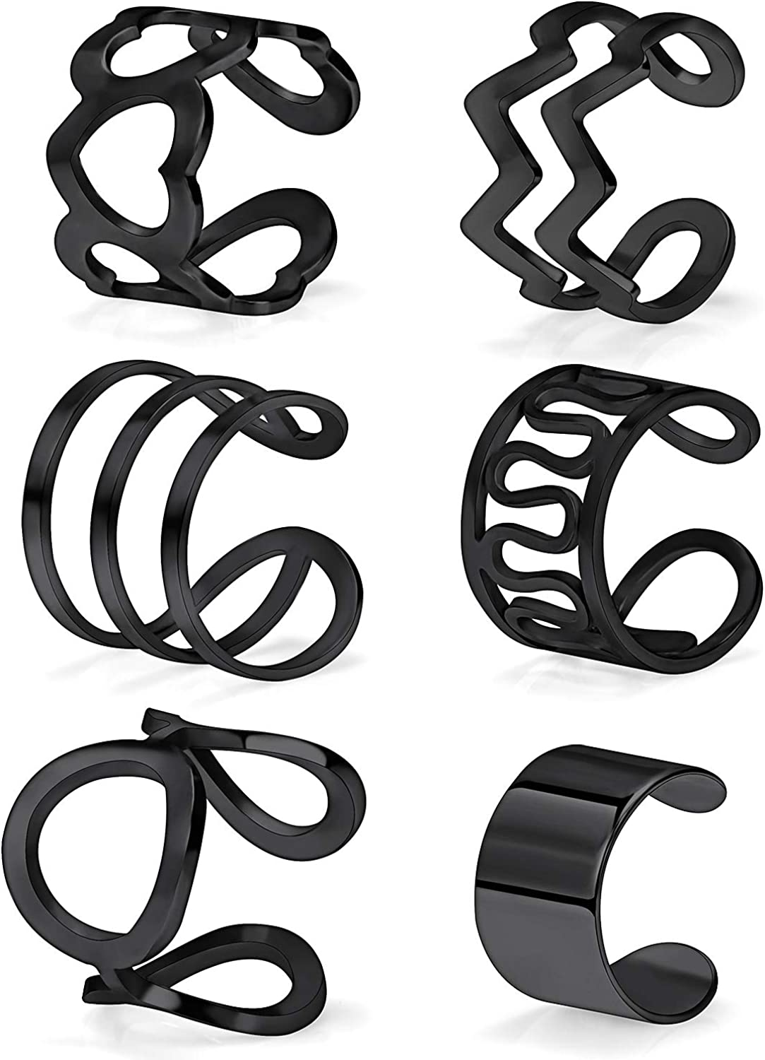SCERRING 6PCS Stainless...