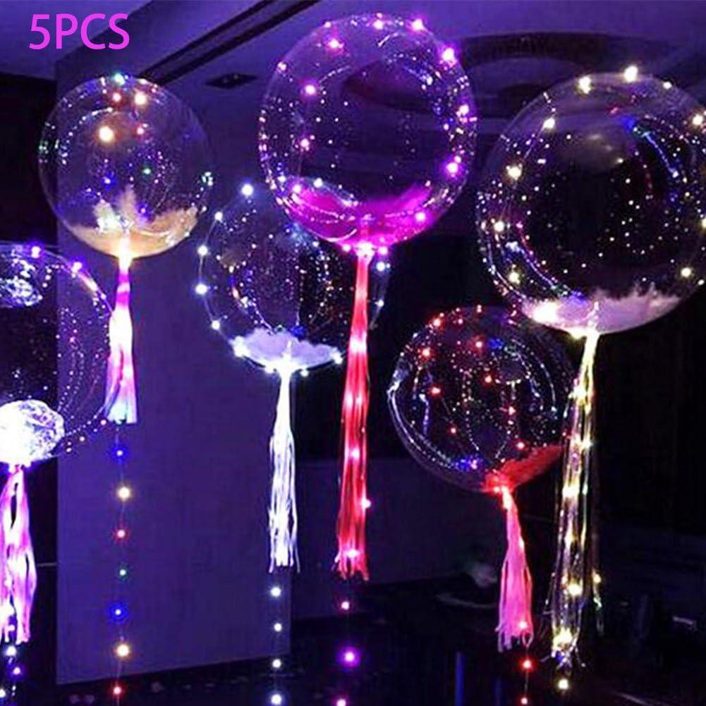 5Pcs 10-36inch PVC Clear Bubble Balloon Transparent Wedding Party Decor Xmas UK