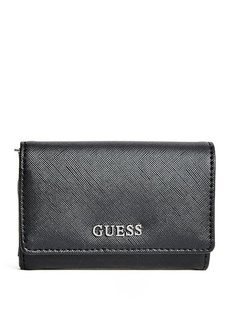 GUESS Delaney Mighty Mini Wallet Black: Amazon.es: Zapatos y ...