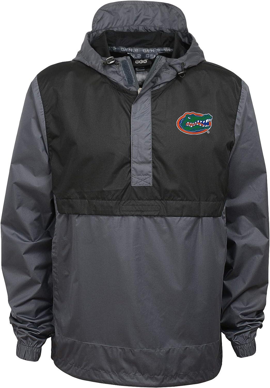 Outerstuff NCAA Mens Florida Gators Hooded Pullover Windbreaker Jacket