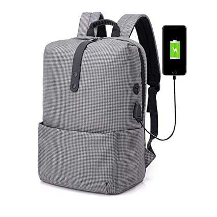 406a480cbb82 Amazon.com: Reichlixin Laptop Bag with USB Charging Port Water ...
