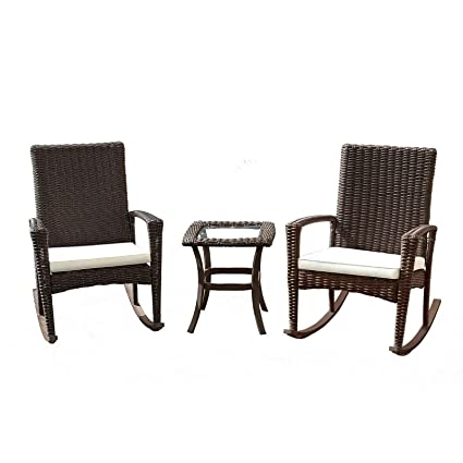 online retailer a384a b1ec4 Amazon.com : Cypress Shop Wicker Rattan Patio Furniture Set ...