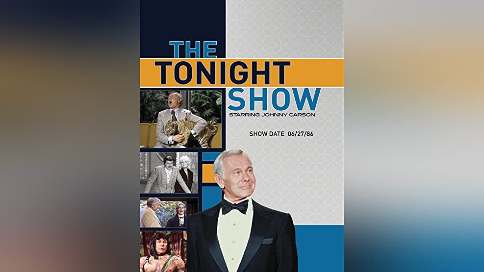 The Tonight Show starring Johnny Carson - Show Date: 06/27/86