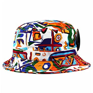 KBETHOS African Kente Print Bucket Hat  Amazon.co.uk  Clothing c73cadab01b