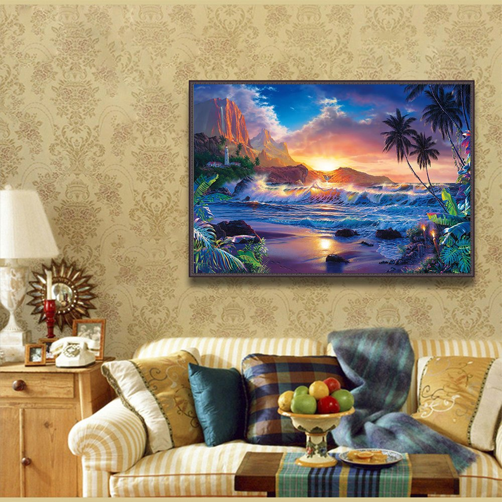 Amazon.com: Blxecky 5D DIY Diamond Painting, By Number Kits Crafts ...