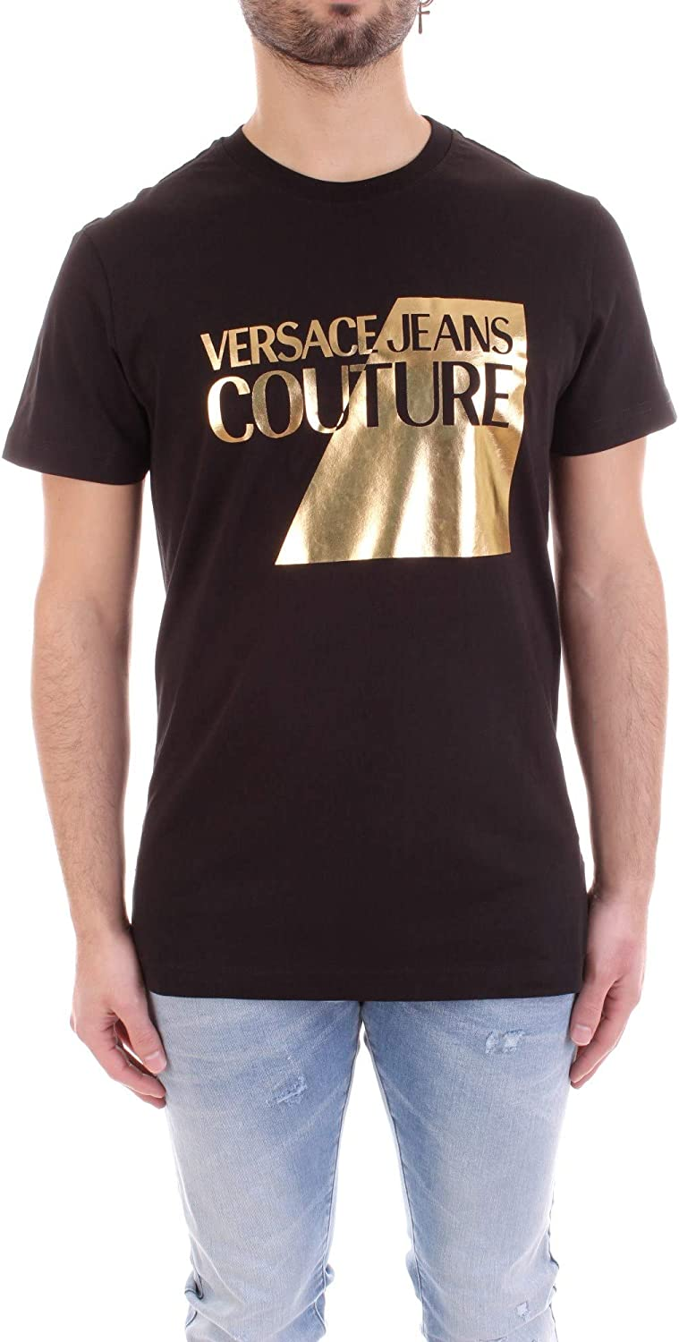 Versace Jeans Couture - Camiseta B3GVB7TP30319 Jersey T.Mouse White - B3GVB7TP30319