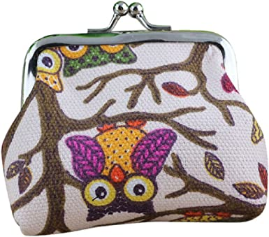 Women Lovely Owl Hasp Smal Wallet Girl Purse Ladies ID Card Coin Clutch Bag Nice