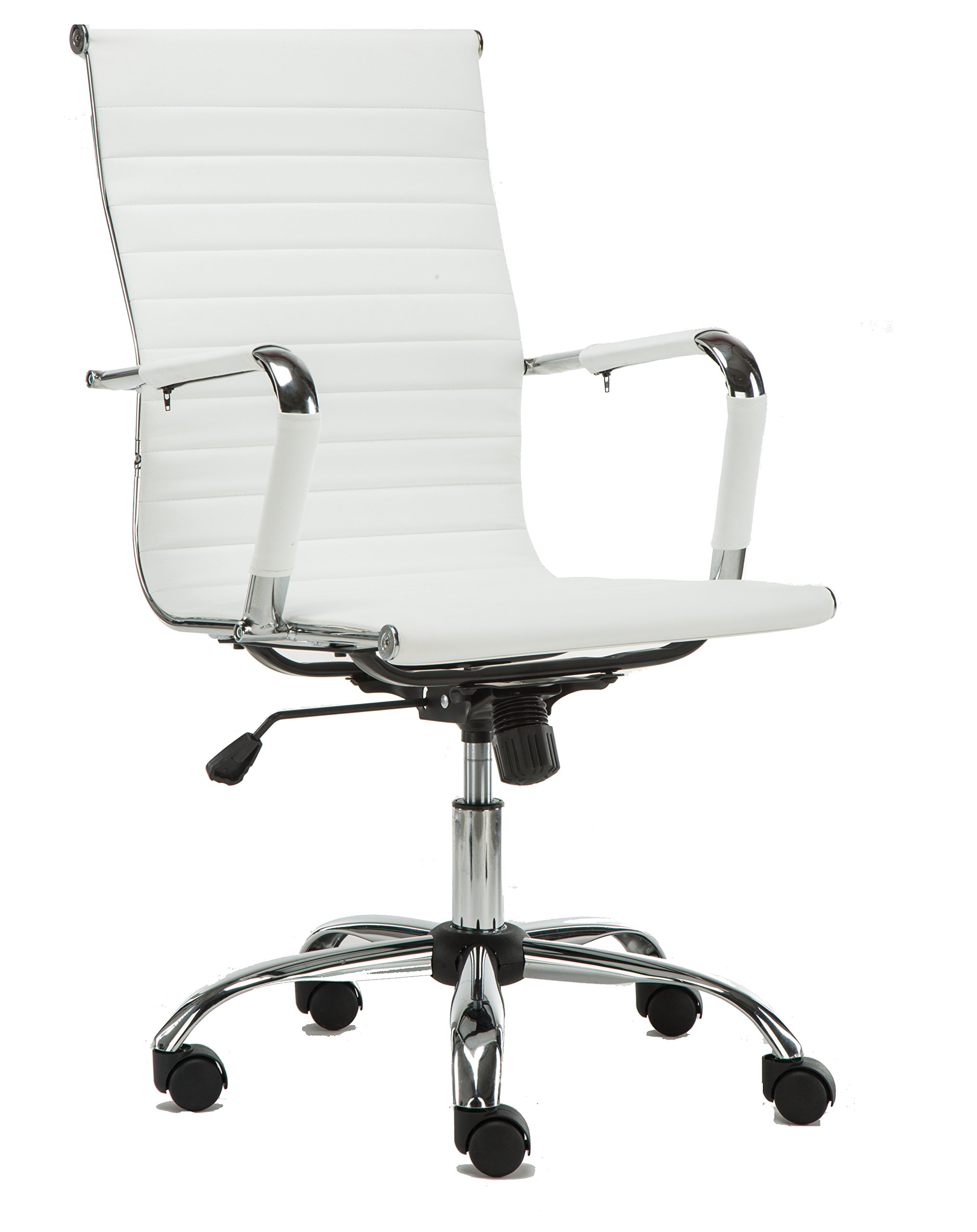 BTEXPERT BAT5039WHITE White Office Conference Chair by BTEXPERT (Image #1)