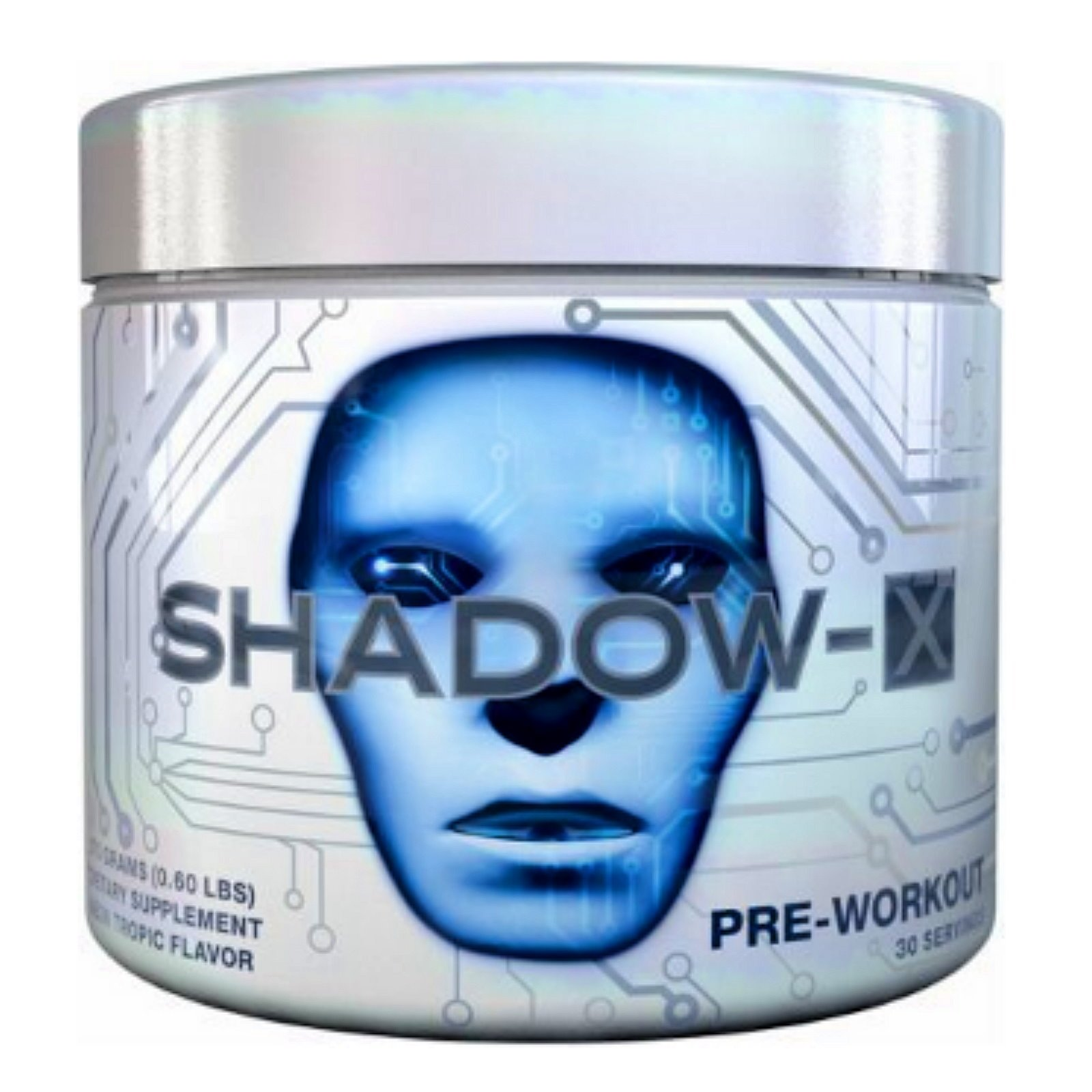 Cobra Labs Shadow X Pre Workout Supplement, Neon Tropic, 0.6 Pound by Cobra Labs