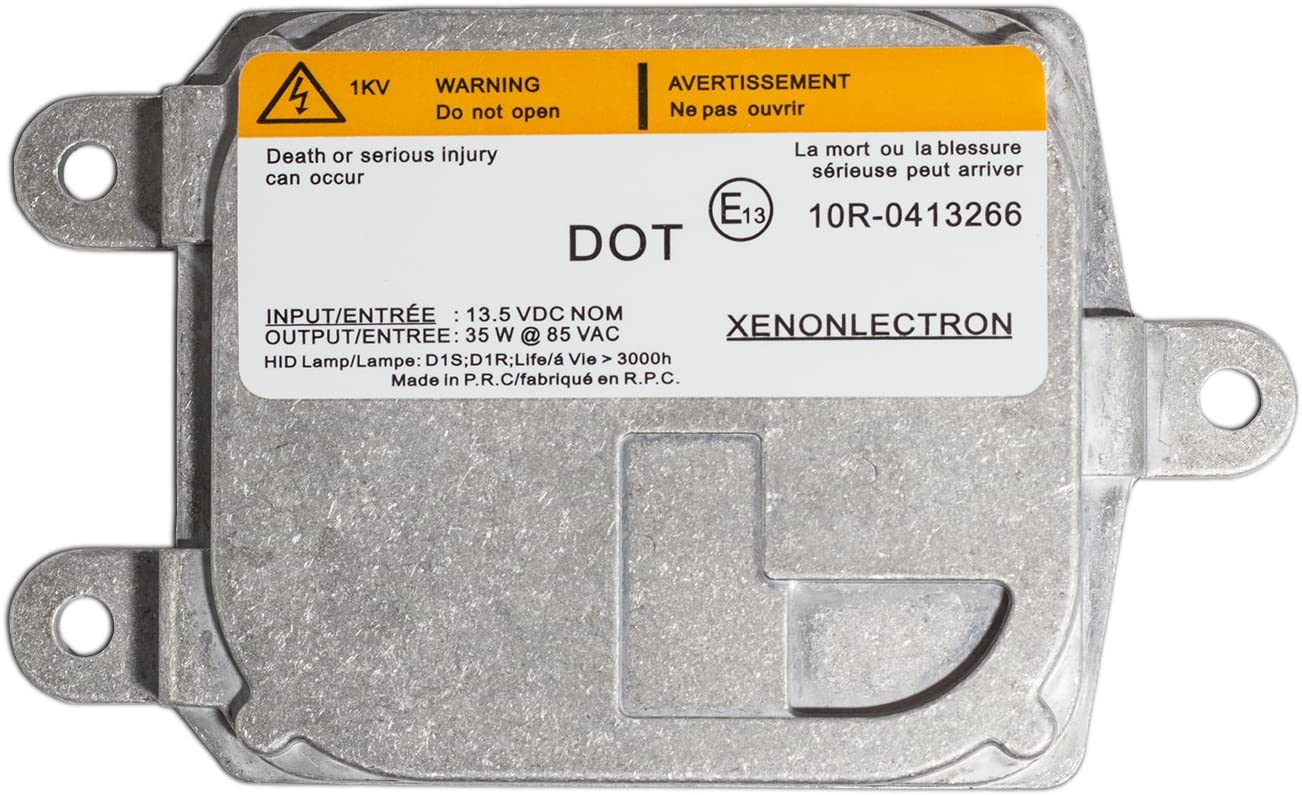 D1S//D1R Single - 1 PCS Xtremevision OEM Replacement Ballast Compatible with OSRAM 83110009044 Xenon HID Ballast - 2 Year Warranty