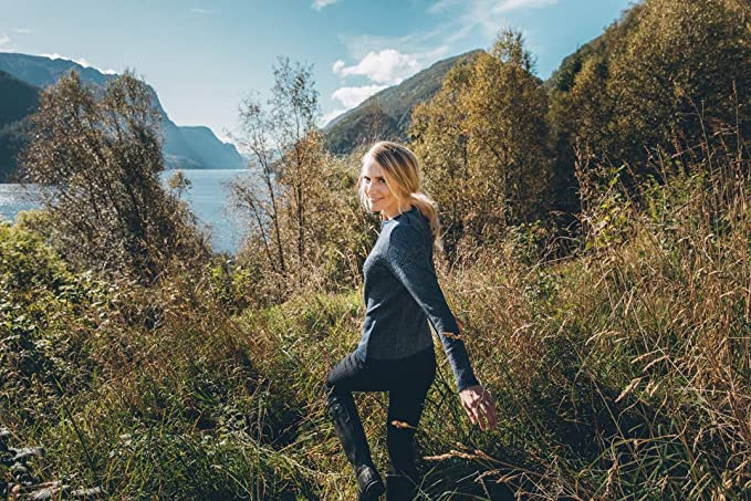 Amazon.com: Dale of Norway Womens Sigrid Feminine Cardigan ...