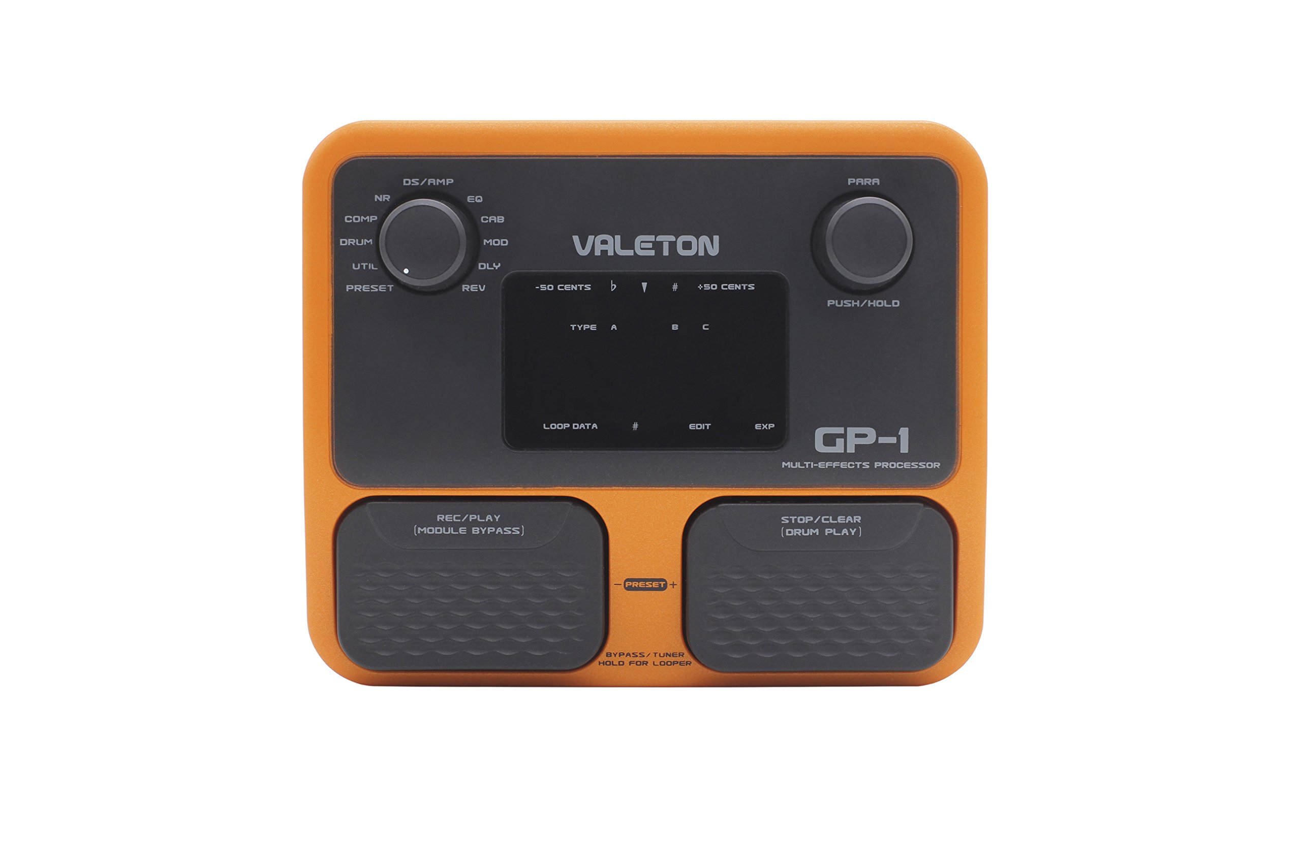 Valeton GP-1 Multi Effects Processor Combines Drum Machine and Looper Complete Feature Set