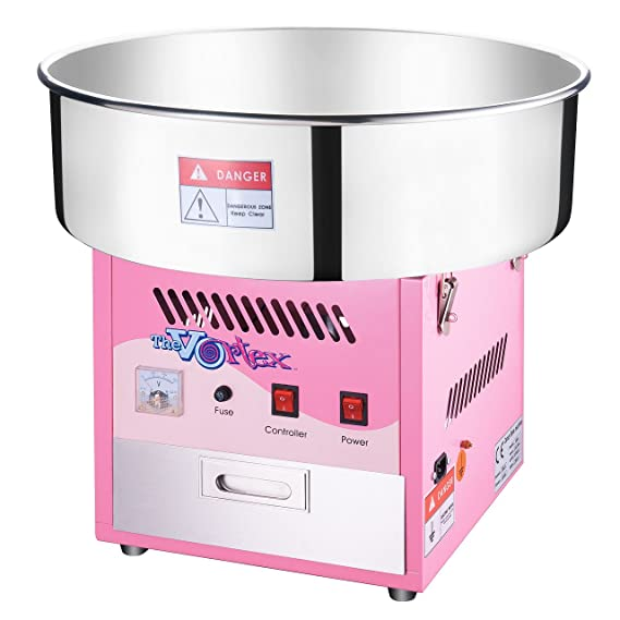 6303 Great Northern Popcorn Commercial Quality Cotton Candy Machine and Electric Candy Floss Maker