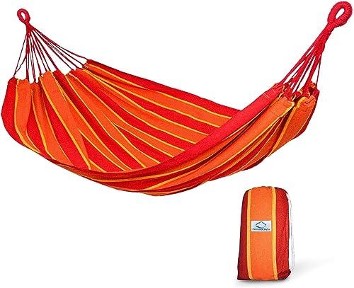 Hammock Sky Brazilian Double Hammock 2 Person Extra Large Bed for Backyard, Porch, Patio