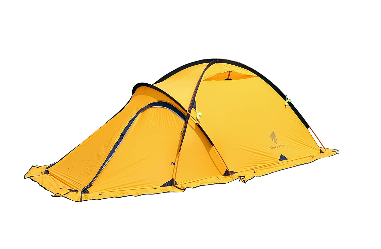 Amazon.com  GEERTOP® 4-season 2-person 20D Lightweight Backpacking Alpine Tent For C&ing Hiking Climbing Travel - With A Living Room  Sports u0026 ...  sc 1 st  Amazon.com & Amazon.com : GEERTOP® 4-season 2-person 20D Lightweight ...