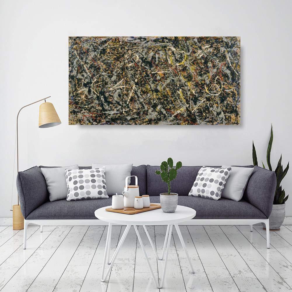 JH Lacrocon Alquimia De 1947 de Jackson Pollock - 120X60 cm ...