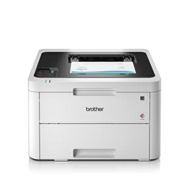 picture regarding Laserjet Printable Vinyl known as Brother HL-L3230CDW Color Laser Printer, Wi-fi and Computer Related, Print and 2 Sided Printing, A4