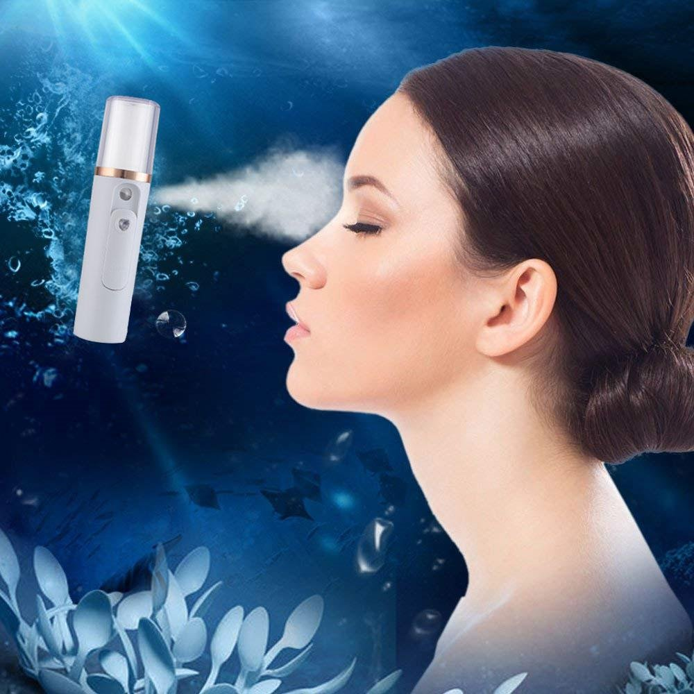 Nano Facial Mister Portable Mini Face Mist Handy Sprayer Atomizatin Eyelash Extensions Cool Facial Steamer Beauty Skin Care Instrument Umiwe