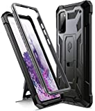 Poetic Spartan Series Designed for Samsung Galaxy S20 Case, Full-Body Rugged Dual-Layer Metallic Color Accent Premium…