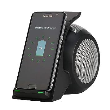 LOVEQIZI Cargador Inalámbrico Rápido con Altavoz Bluetooth ...