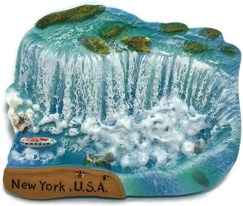 Niagara Falls New York USA Canada Souvenir Collection 3D Fridge Refrigerator Magnet Hand Made Resin