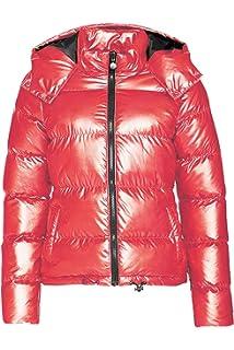 b0f083a3efc Kooosin Womens Lightweight Outwear Coats Lightweight Water-Resistant Hooded Down  Metallic Bomber Nightclub Party Jacket