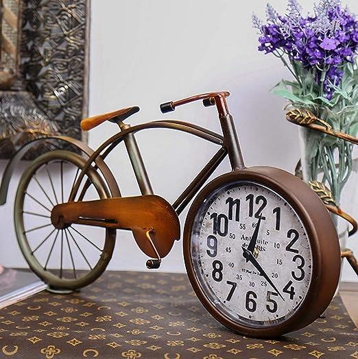FENGCLOCK Reloj De Escritorio para Bicicleta, Reloj De Mesa ...