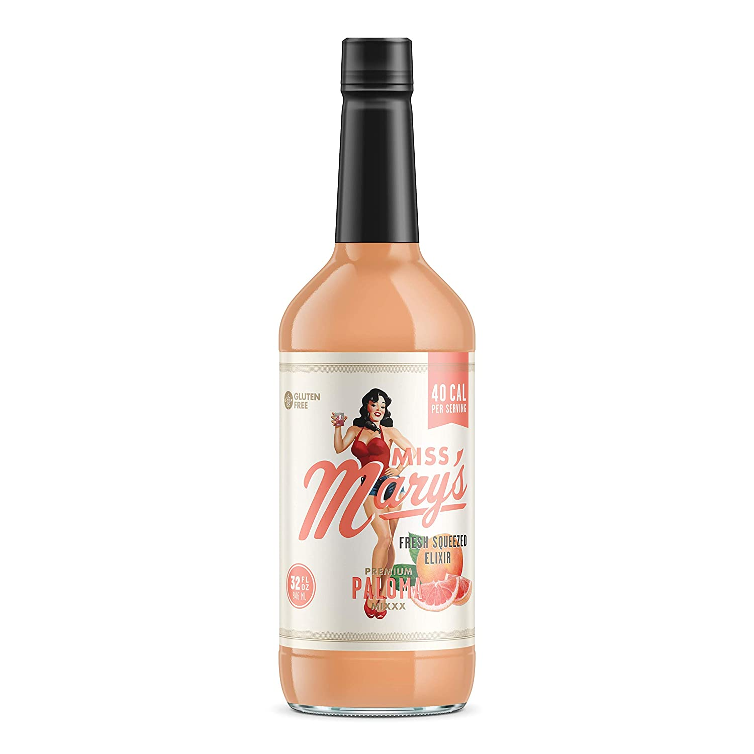 Miss Mary's Fresh Squeezed Paloma Mix | Low Sugar and Carbohydrates | Big Flavor | Clean Label 71dazhnRhYL