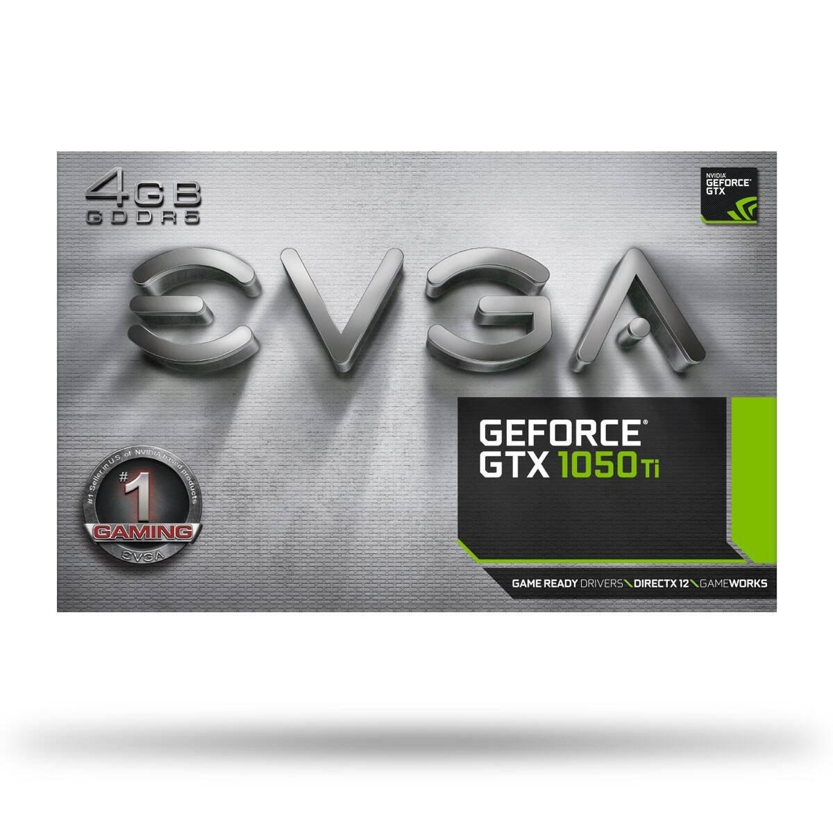 DX12 OSD 4 GB GDDR5 PXOC EVGA GeForce GTX 1050 Ti SSC Gaming ACX 3.0 Tarjeta Grafica 04G-P4-6255-KR