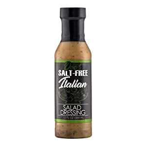 Doc's Salt-Free All Natural Salad Dressing | Salt Free Marinade - Tangy Italian Vinaigrette