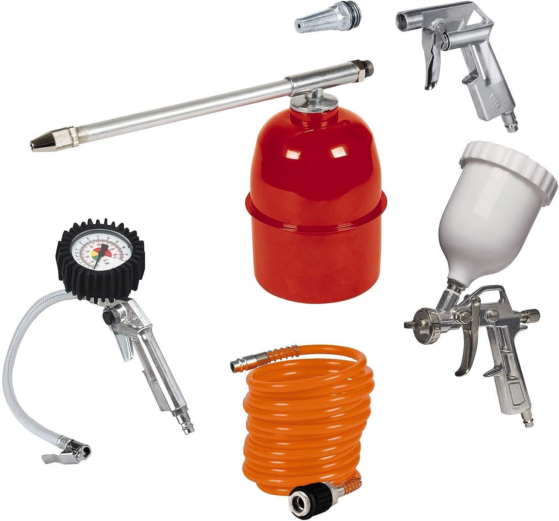Einhell Kit de accesorios para compresor de aire, 5 unidades (ref.4132720)