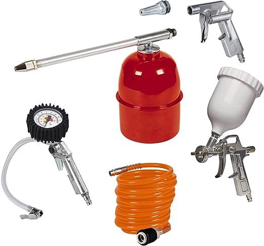 Einhell Kit de accesorios para compresor de aire, 5 unidades (ref ...