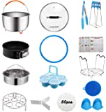 [Best Value Set] House Again Accessories for InstaPot, Universal Compatible with 5/6 Qt Pressure Cookers- Sturdy Steamer…